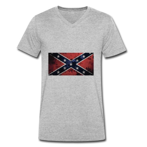 rebell - Økologisk T-skjorte med V-hals for menn fra Stanley & Stella