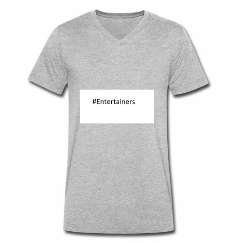 #Entertainers - Männer Bio-T-Shirt mit V-Ausschnitt von Stanley & Stella