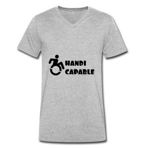 Capable - Mannen bio T-shirt met V-hals van Stanley & Stella