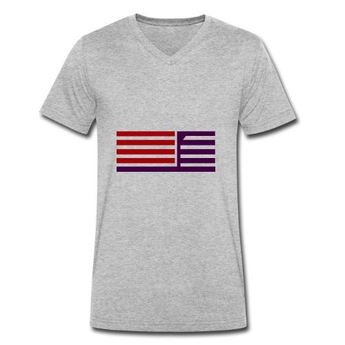 oie transparent 8 - Männer Bio-T-Shirt mit V-Ausschnitt von Stanley & Stella