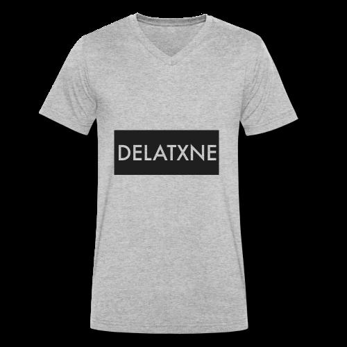 Rectangle Design - Men's Organic V-Neck T-Shirt by Stanley & Stella