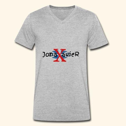 JonaXavieR - Männer Bio-T-Shirt mit V-Ausschnitt von Stanley & Stella
