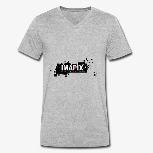 IMAPIX ANIMATION Rectro02 - T-shirt bio col V Stanley & Stella Homme