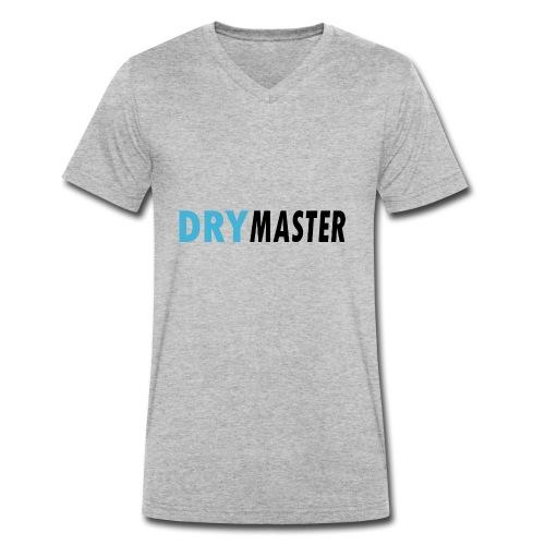 drymaster logo - Männer Bio-T-Shirt mit V-Ausschnitt von Stanley & Stella
