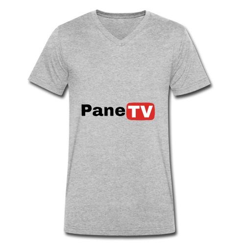 PaneTV - Männer Bio-T-Shirt mit V-Ausschnitt von Stanley & Stella