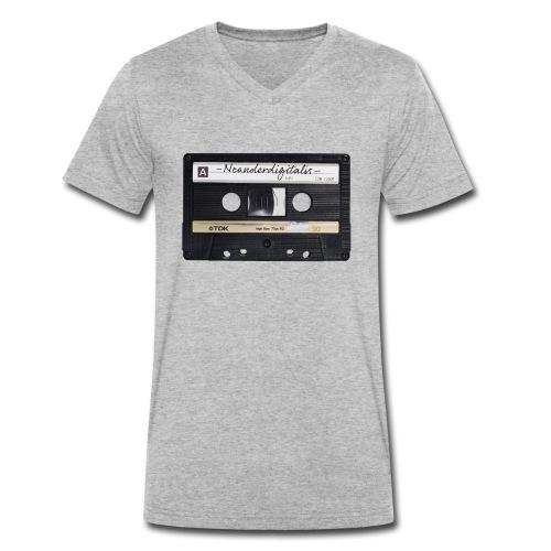 Neanderdigitalis - Männer Bio-T-Shirt mit V-Ausschnitt von Stanley & Stella