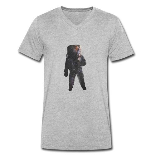 Spaceman - T-shirt ecologica da uomo con scollo a V di Stanley & Stella