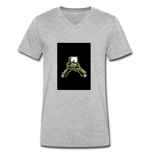 Smombie - Männer Bio-T-Shirt mit V-Ausschnitt von Stanley & Stella