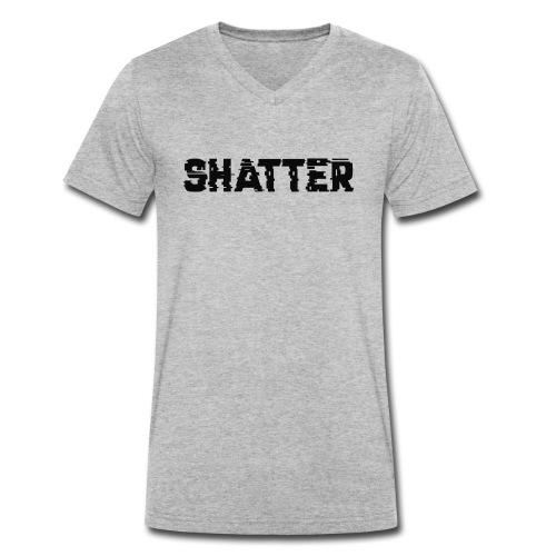 shatter - Männer Bio-T-Shirt mit V-Ausschnitt von Stanley & Stella