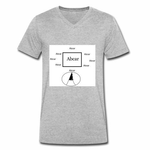abcar logo - Mannen bio T-shirt met V-hals van Stanley & Stella