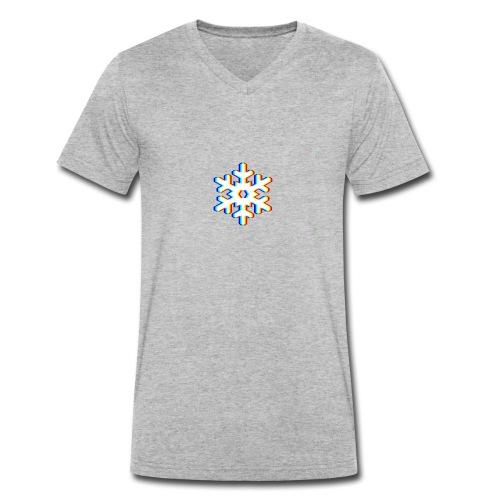 Logo Futur Snowflake - T-shirt bio col V Stanley & Stella Homme