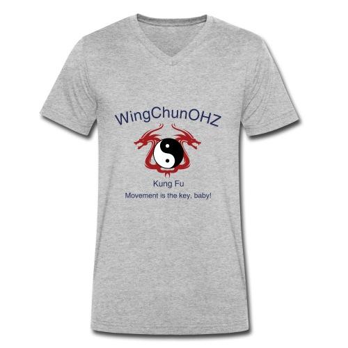 WingChunOHZ - Männer Bio-T-Shirt mit V-Ausschnitt von Stanley & Stella