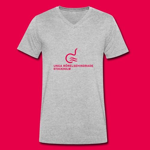UngaRHsthlmLogga - Ekologisk T-shirt med V-ringning herr från Stanley & Stella