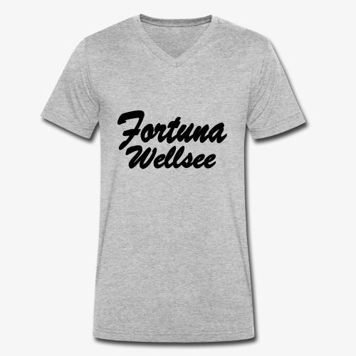 Fortuna Wellsee - Männer Bio-T-Shirt mit V-Ausschnitt von Stanley & Stella