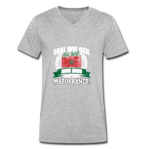 Bist du stolz Marokkanerin zu sein? Dann ist diese - Männer Bio-T-Shirt mit V-Ausschnitt von Stanley & Stella