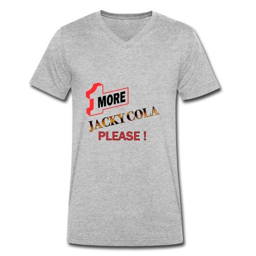 1 MORE Jacky Cola - Männer Bio-T-Shirt mit V-Ausschnitt von Stanley & Stella