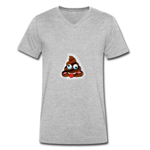 Logo 2 - Männer Bio-T-Shirt mit V-Ausschnitt von Stanley & Stella
