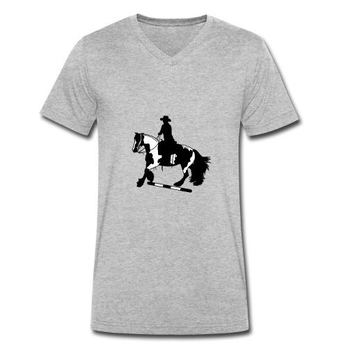 Tinker Galopp I Stange - Männer Bio-T-Shirt mit V-Ausschnitt von Stanley & Stella