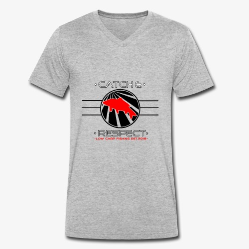 LowCarpSchneider Edition - Männer Bio-T-Shirt mit V-Ausschnitt von Stanley & Stella