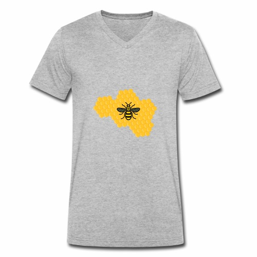 ape - T-shirt ecologica da uomo con scollo a V di Stanley & Stella