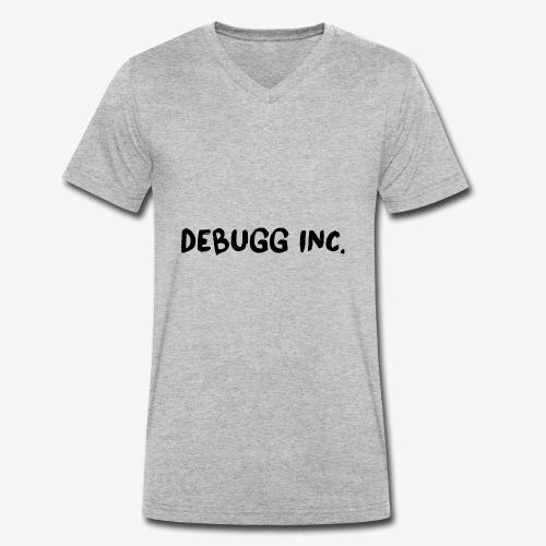 Debugg INC. Brush Edition - Men's Organic V-Neck T-Shirt by Stanley & Stella