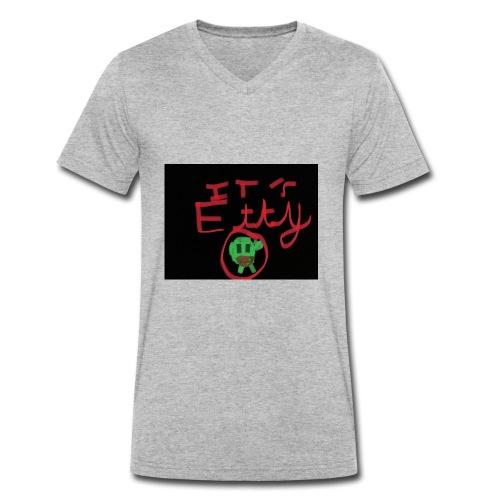 It's Etty - Men's Organic V-Neck T-Shirt by Stanley & Stella