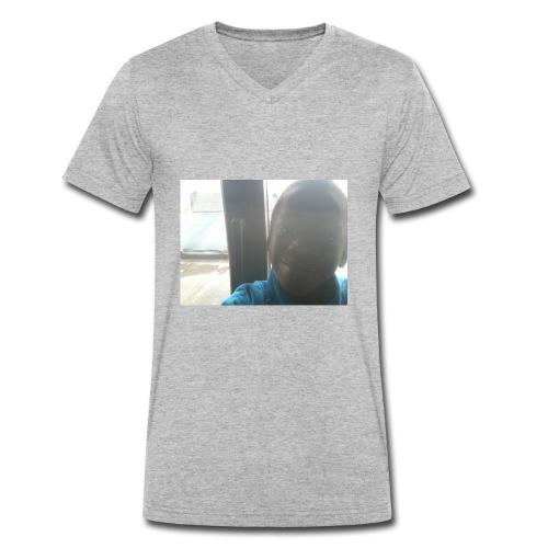 Sekou - Mannen bio T-shirt met V-hals van Stanley & Stella