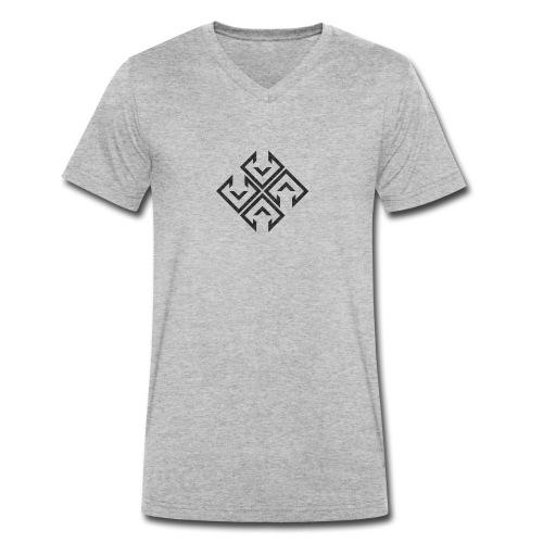 logo ibra2 - Camiseta ecológica hombre con cuello de pico de Stanley & Stella
