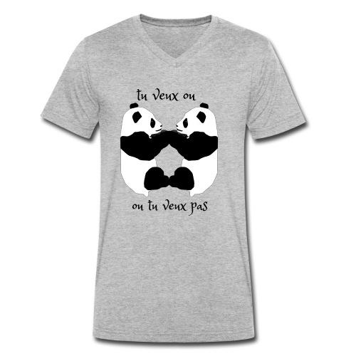 tu veux ou tu veux pas - T-shirt bio col V Stanley & Stella Homme