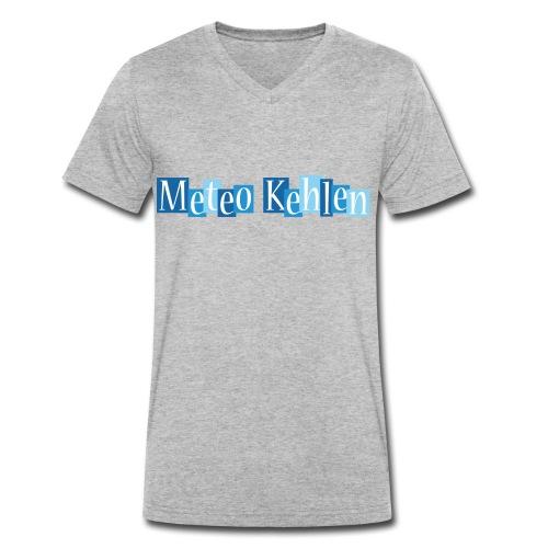 mk logo 3 - Männer Bio-T-Shirt mit V-Ausschnitt von Stanley & Stella