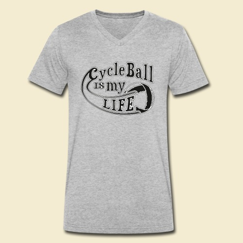 Radball | Cycle Ball is my Life - Männer Bio-T-Shirt mit V-Ausschnitt von Stanley & Stella