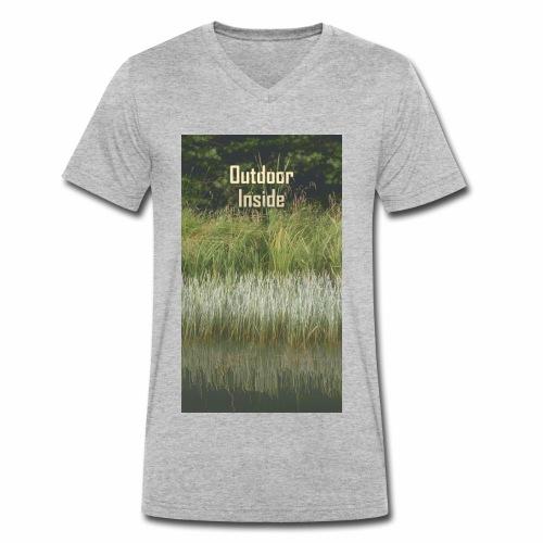 Outdoor Inside - Männer Bio-T-Shirt mit V-Ausschnitt von Stanley & Stella