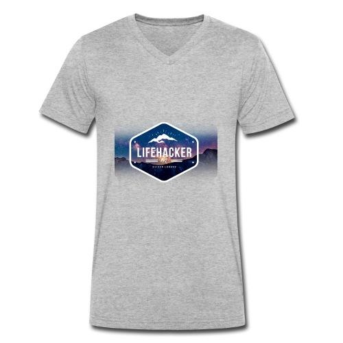 Lifehacker - Männer Bio-T-Shirt mit V-Ausschnitt von Stanley & Stella