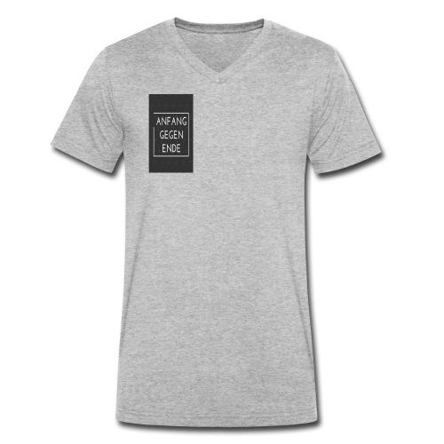 MEIN MERCH - Männer Bio-T-Shirt mit V-Ausschnitt von Stanley & Stella