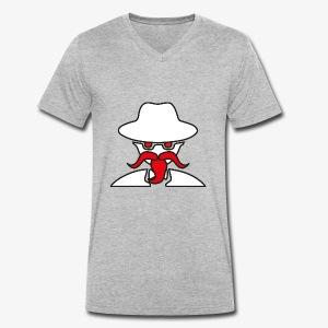 Insidious eSports Longbeard - Männer Bio-T-Shirt mit V-Ausschnitt von Stanley & Stella