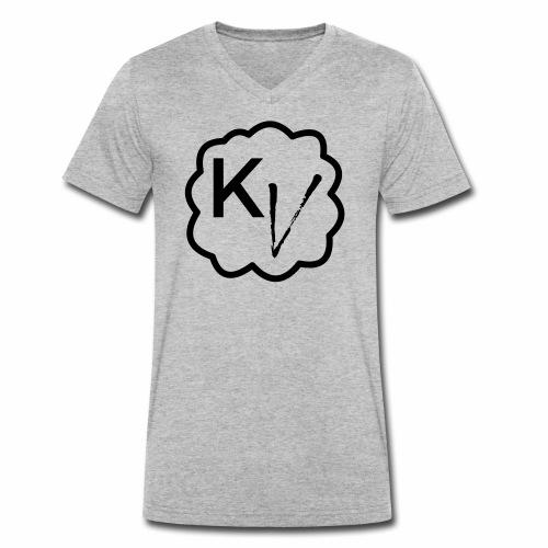 King Vape Icon - Men's Organic V-Neck T-Shirt by Stanley & Stella