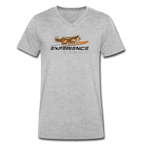 Logo Agility-eXperience By Thomas RACZKA - T-shirt bio col V Stanley & Stella Homme