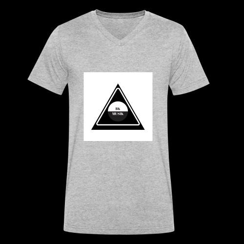 BKMusik - Männer Bio-T-Shirt mit V-Ausschnitt von Stanley & Stella