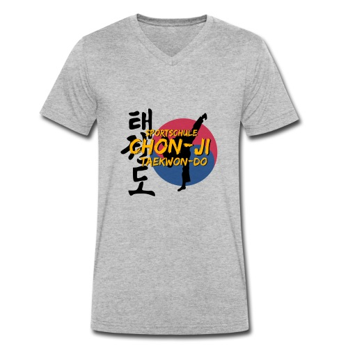 taekwondo2 - Männer Bio-T-Shirt mit V-Ausschnitt von Stanley & Stella