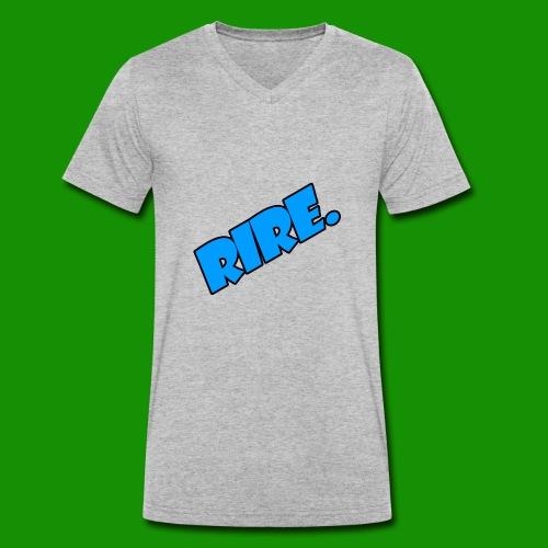 rire - T-shirt bio col V Stanley & Stella Homme