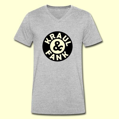 Kraul & Fank - Männer Bio-T-Shirt mit V-Ausschnitt von Stanley & Stella