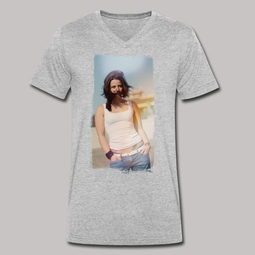 Mash - Männer Bio-T-Shirt mit V-Ausschnitt von Stanley & Stella