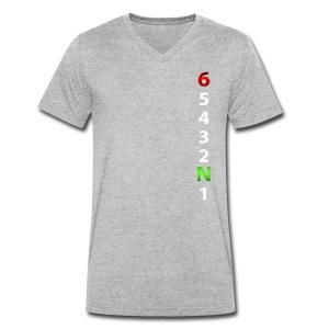 Motorcycles - T-shirt ecologica da uomo con scollo a V di Stanley & Stella