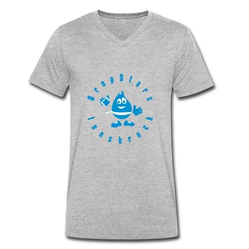 Logo DropStars Innsbruck Droppy - Männer Bio-T-Shirt mit V-Ausschnitt von Stanley & Stella