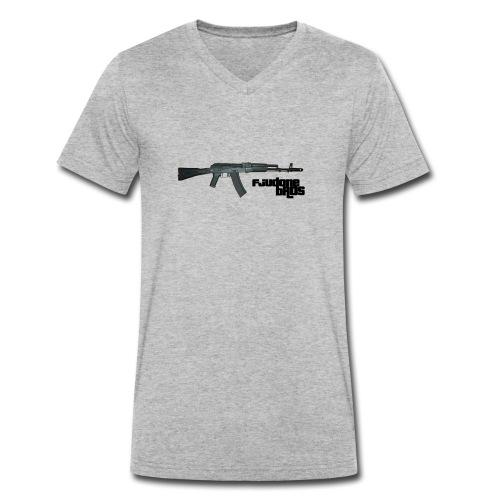 fjudone bros (AK-47) - Männer Bio-T-Shirt mit V-Ausschnitt von Stanley & Stella