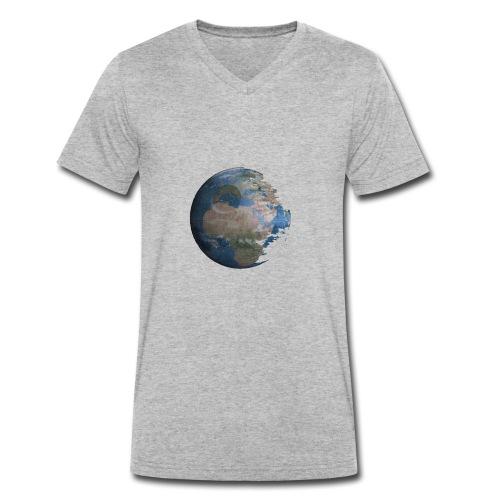 Death Earth - T-shirt bio col V Stanley & Stella Homme