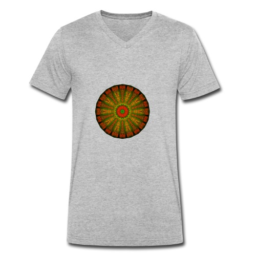from the inside - Men's Organic V-Neck T-Shirt by Stanley & Stella
