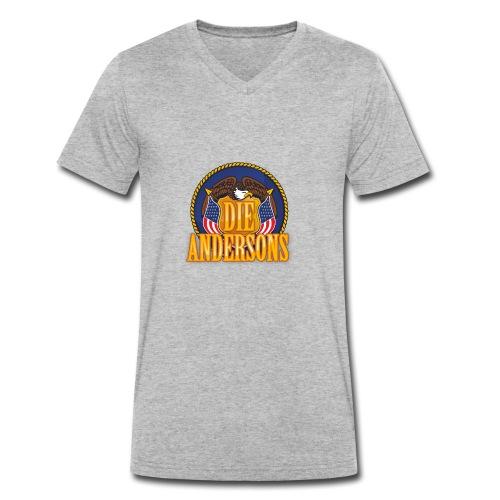Die Andersons - Merchandise - Männer Bio-T-Shirt mit V-Ausschnitt von Stanley & Stella