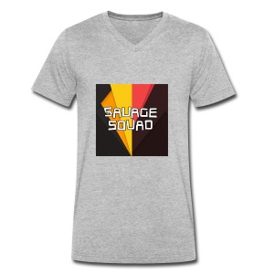 SavageSquad Gear - Men's Organic V-Neck T-Shirt by Stanley & Stella