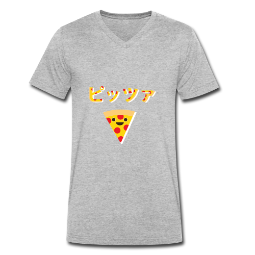 Pizza? Pizza! - Men's Organic V-Neck T-Shirt by Stanley & Stella
